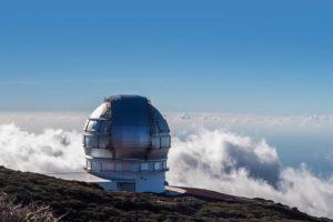 El observatorio astronómico del Roque de los Muchachos - La Palma