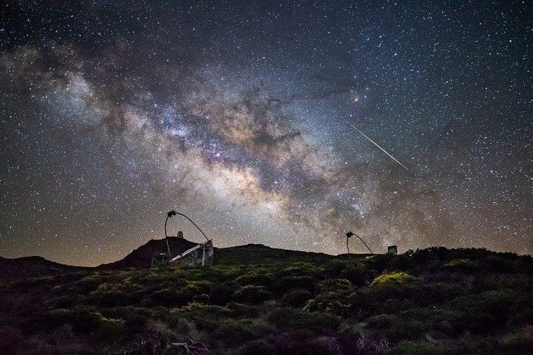 Astronomie, Sterne, Sternenhimmel, La Palma, Roque de los Muchachos