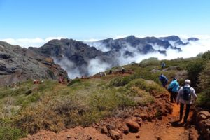 Hiking, Hike, Walking Week, La Palma, Roque de los Muchachos