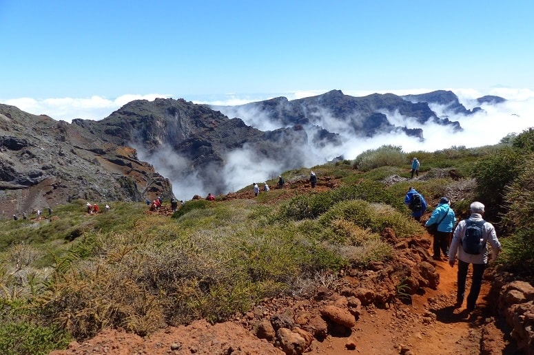 Wandern, Wanderung, Wanderwoche, La Palma, Roque de los Muchachos