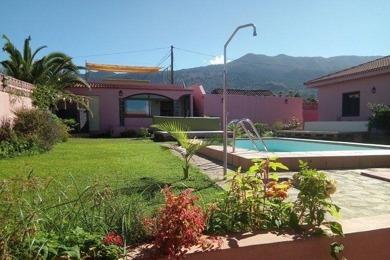 Außenbereich Retreat Zentrum La Palma