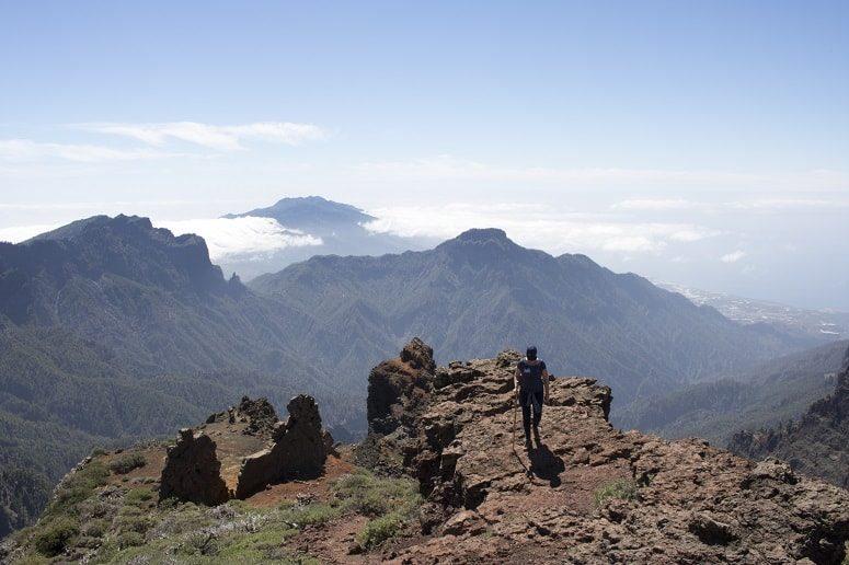 Auf dem Gipfel La Palmas