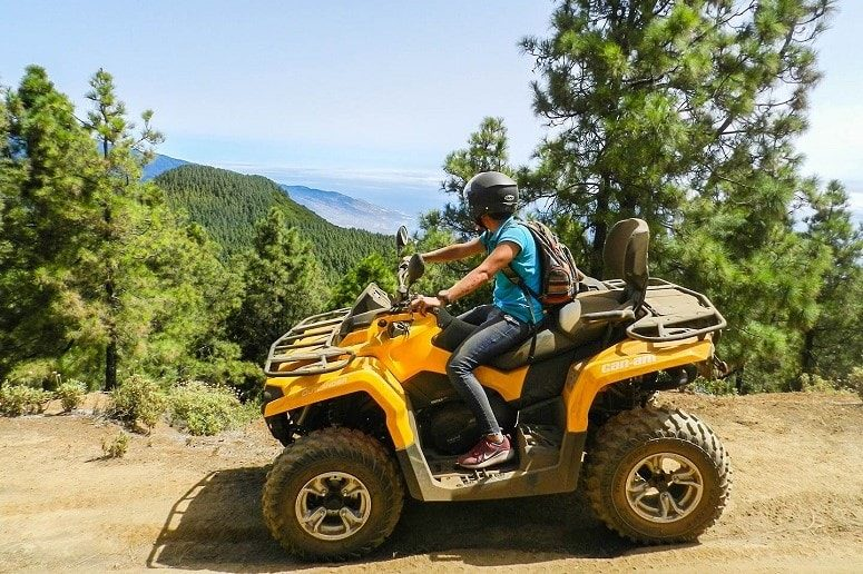 Tour, Quad, La Palma, Viewpoint