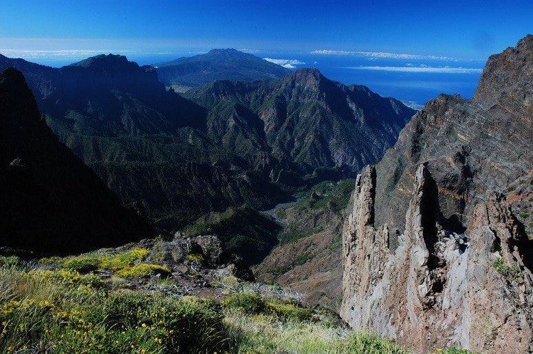 Berge, Atlantik, La Palma