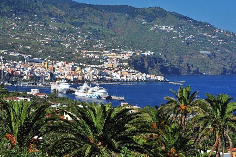 Blick über Santa Cruz de La Palma
