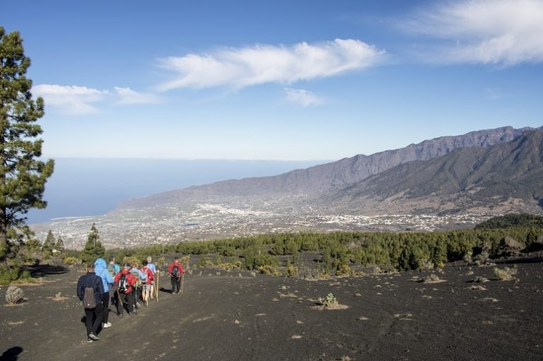 Overlooking the Aridane Valley, La Palma