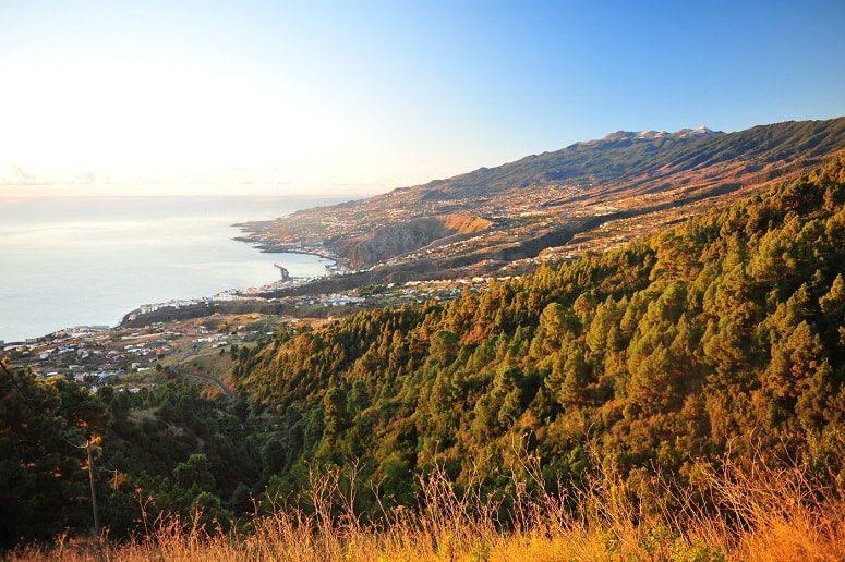 Blick auf Santa Cruz de La Palma