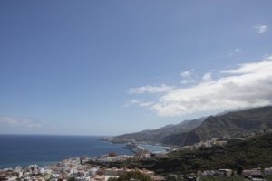 View to Santa Cruz de La Palma