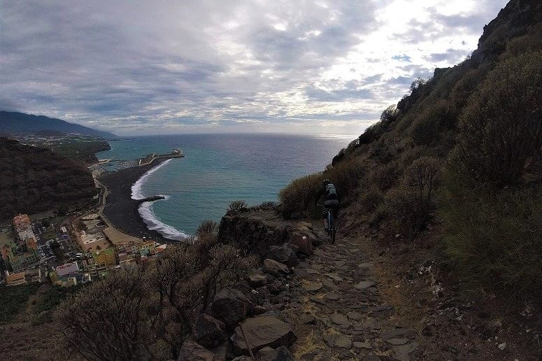 Mountain bike tour, El Time, La Palma