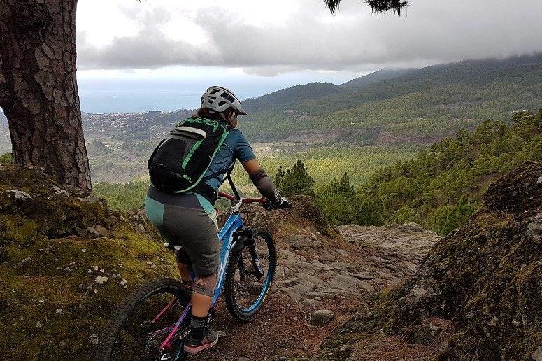 Mountain bike tour La Palma