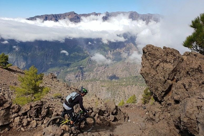 Enjoy mountain biking, La Palma