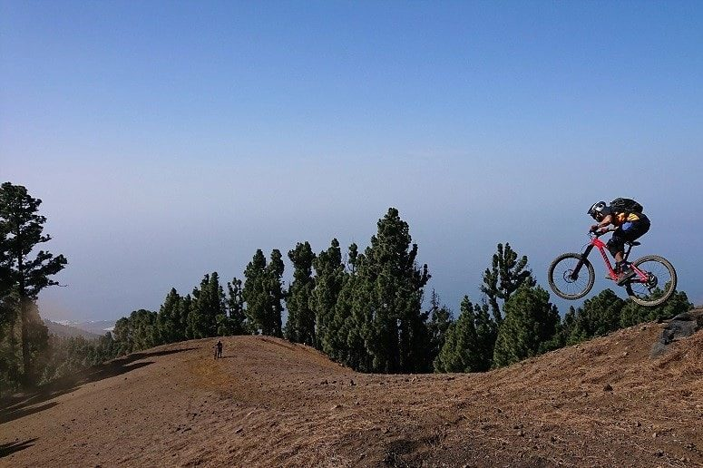 Mountain biking La Palma