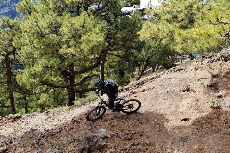 Mountainbiken auf La Palma