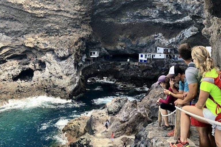 Pirates Cave in the northwest of La Palma
