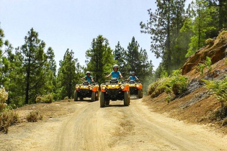 Paseo en quad, La Palma
