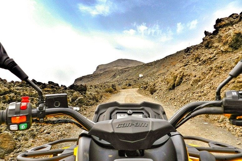 Quad, La Palma, tour emocionante