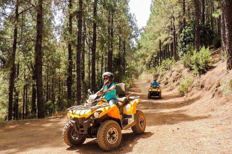 Tour en quad, La Palma, Cumbre