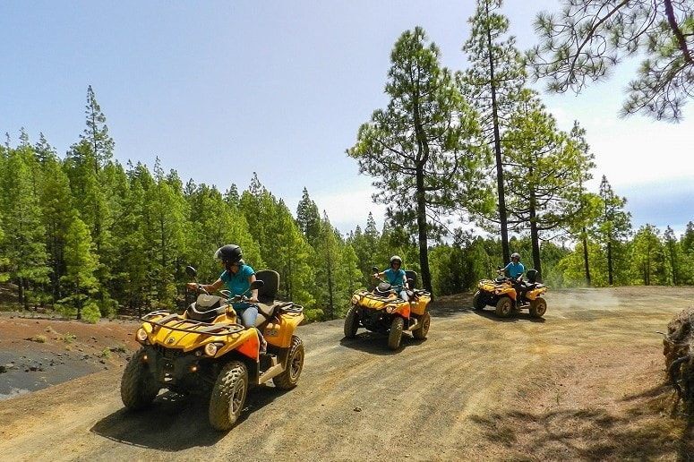 Quad Tour with friends, La Palma