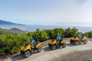 Quad fahren auf La Palma
