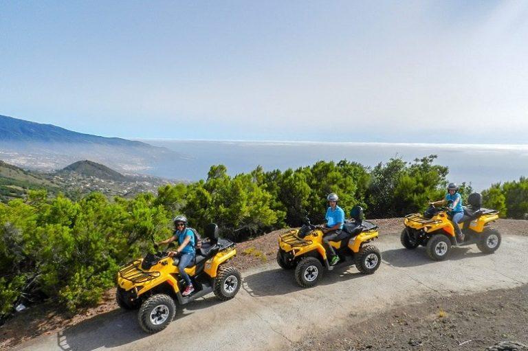 Quad Trip at La Palma