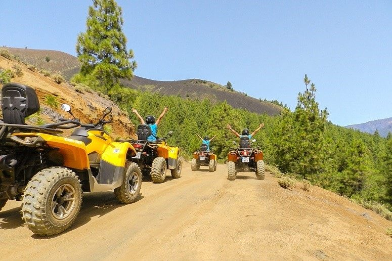 Quad Trip at La Palma, Cumbre