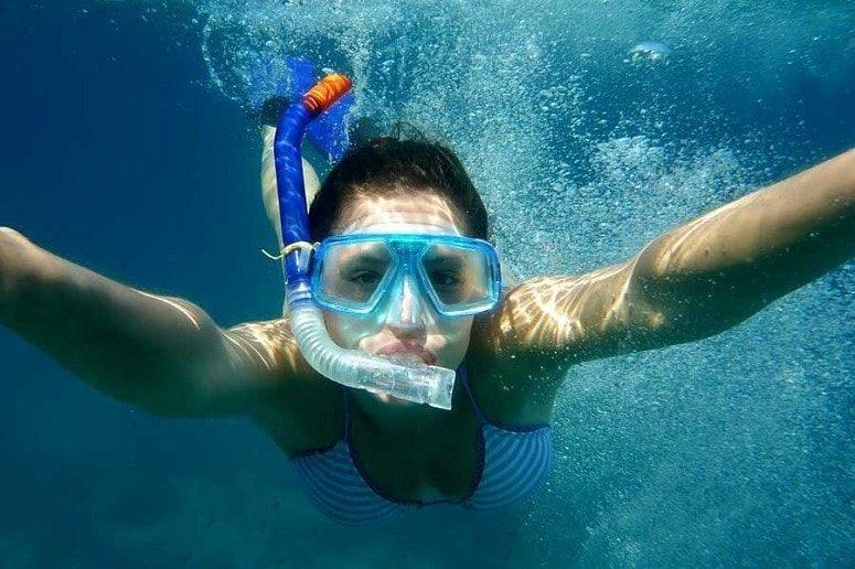 Snorkelling in the Atlantic, La Palma