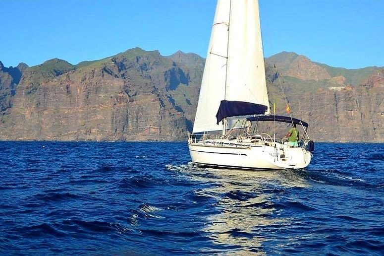 Sailing boat La Palma