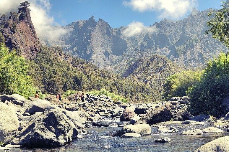 Taburiente Fluss auf La Palma