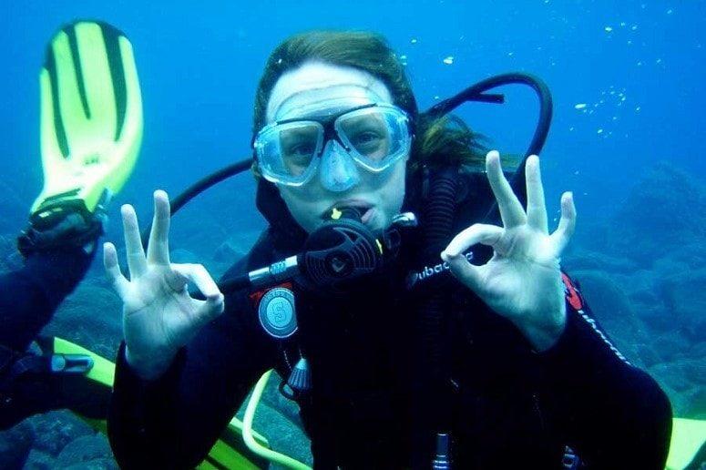 Diver, Atlantic, La Palma