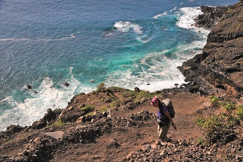 Tijarafe, Küste, La Palma