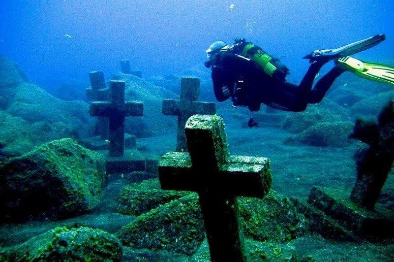 Underwater Cemetery, La Palma