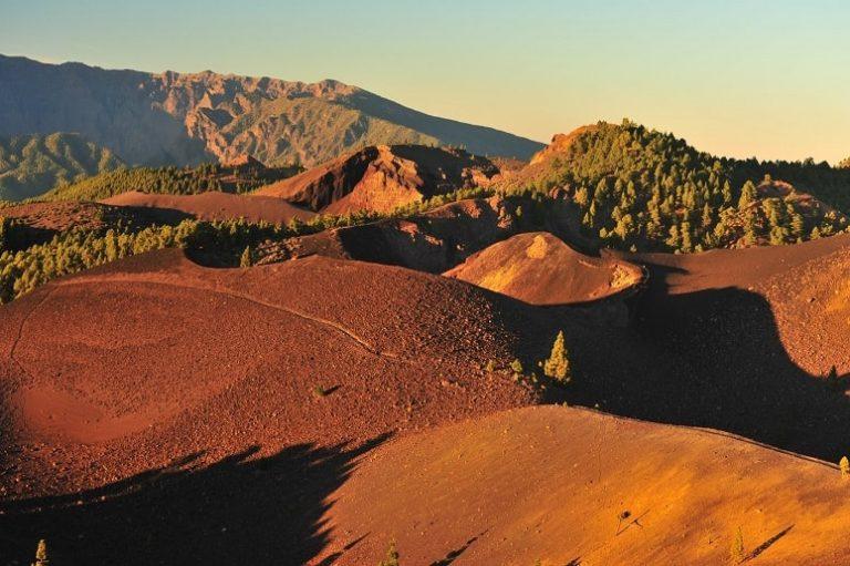 Vulkanische Landschaft auf La Palma
