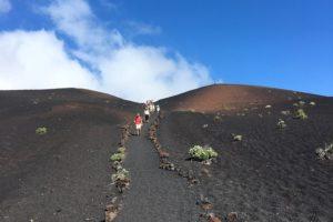 El volcanico sur de La Palma