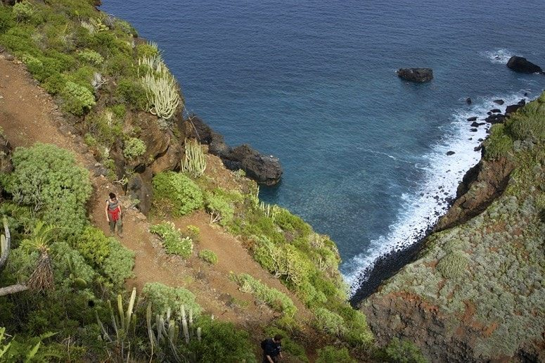 Hiking, Coast, North, La Palma