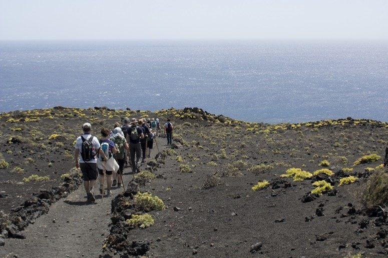 Wanderung im vulkanischen Süden La Palmas