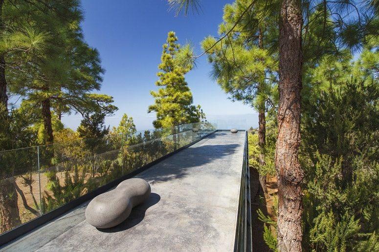 Aussichtsplattform in Puntagorda