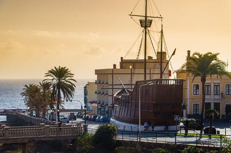 Santa Cruz de La Palma, Schiff