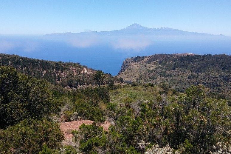 Aussicht, Inselrundfahrt, La Gomera