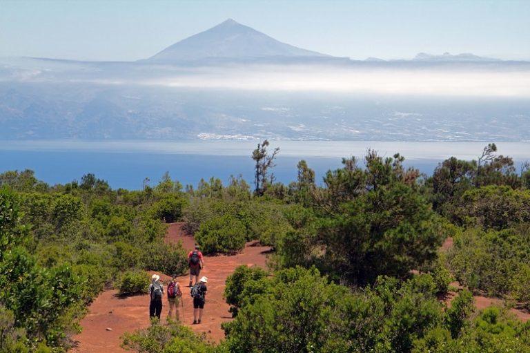 Blick auf den Teide von La Gomera