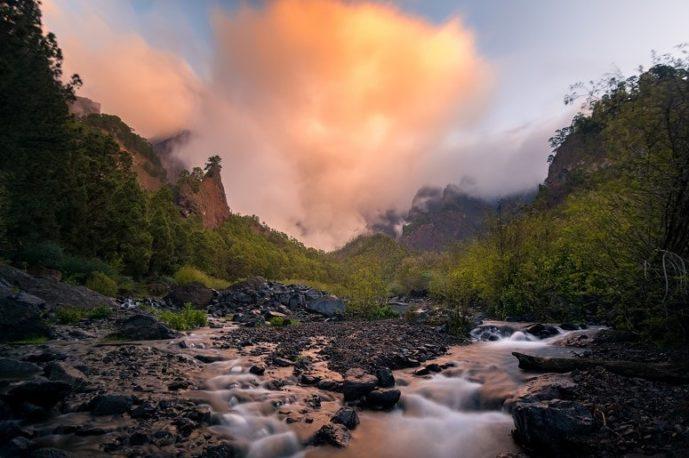 Parque Nacional, Caldera de Taburiente, La Palma