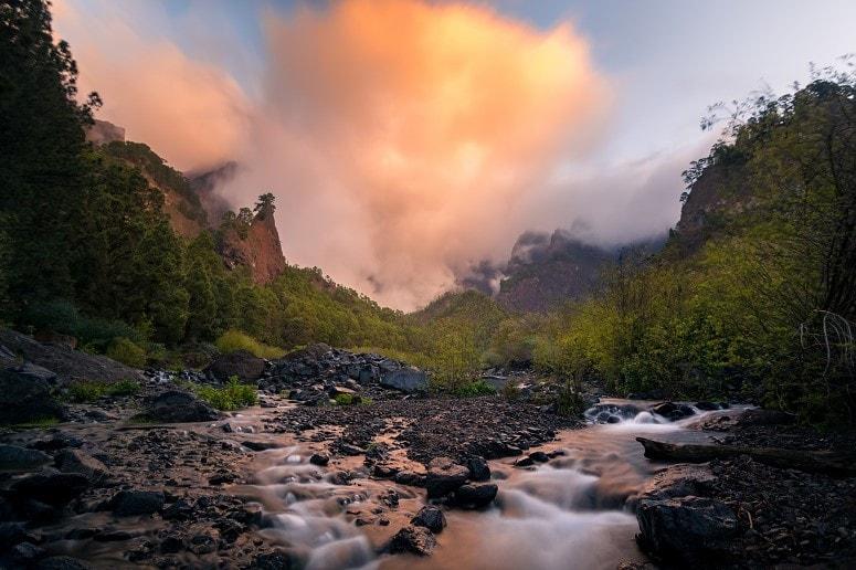 National Park, Caldera de Taburiente, La Palma