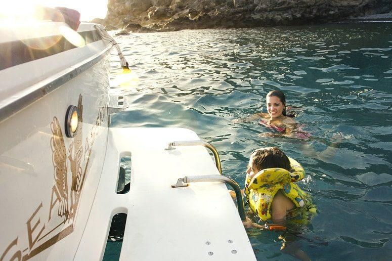 Boat Trip, Swimming, Tenerife