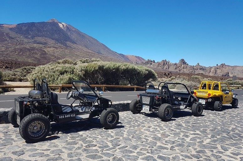 Ride with a Buggy, Tenerife
