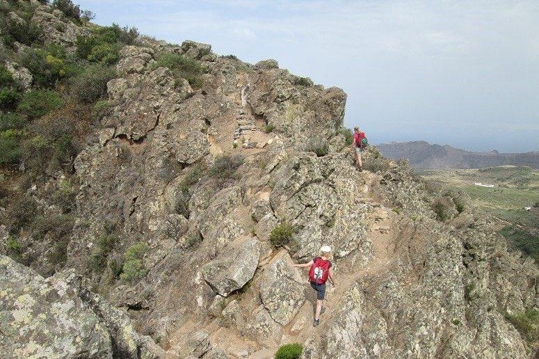 Gipfel, Wanderung, La Gomera