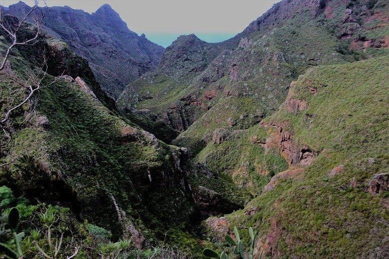 Hiking, Gorge, Anaga