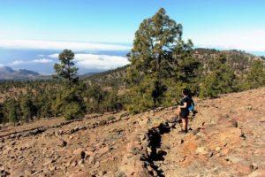 Hiking, Tenerife, Volcanic Landscape