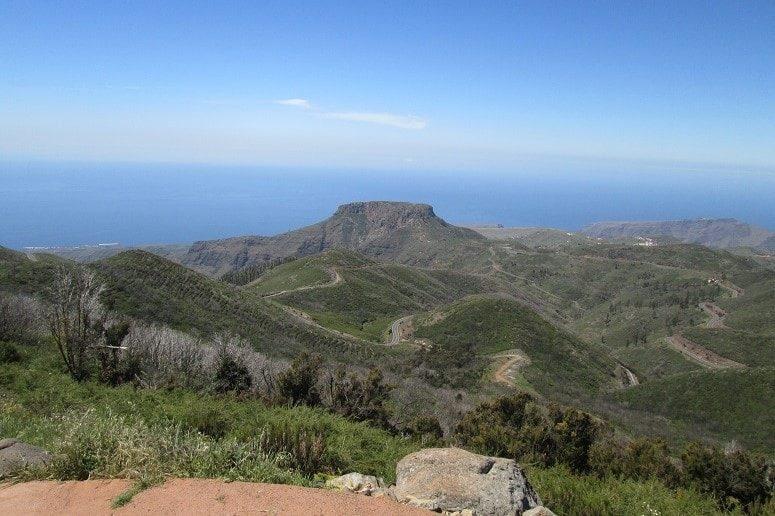 La Gomera, Weite Sicht, Landschaft