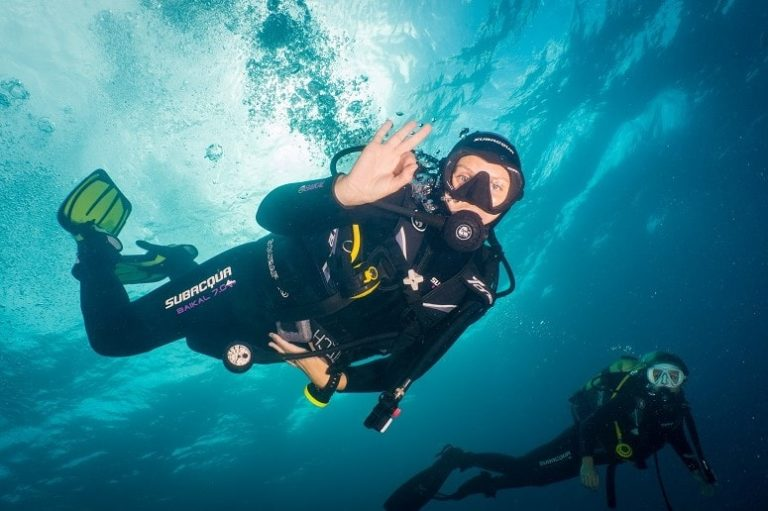 Diver, Discovery Dive