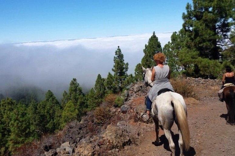 Montar a Caballo, Tenerife
