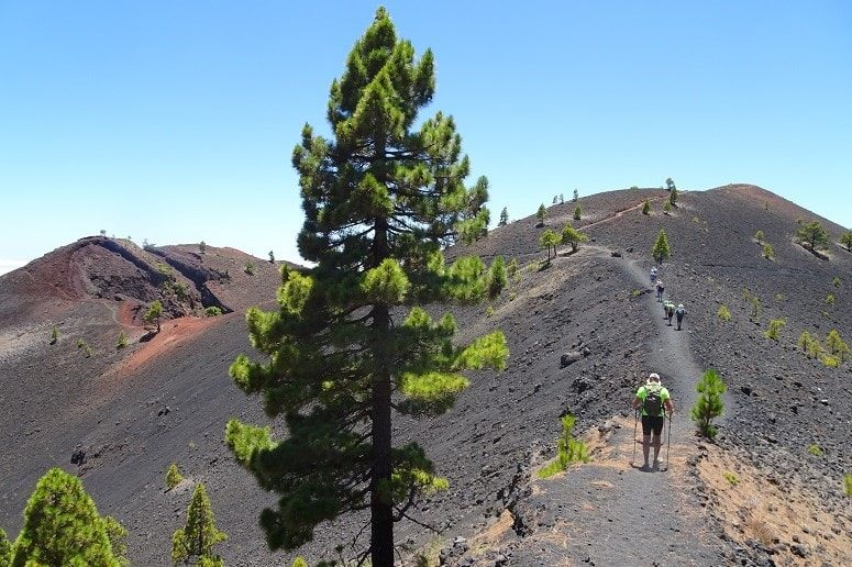 Hiking La Palma, Volcano Route